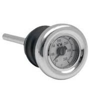 MCS Oil temp gauge 1984-2012 Softail; 1982-2003 XL and Custom Tanks