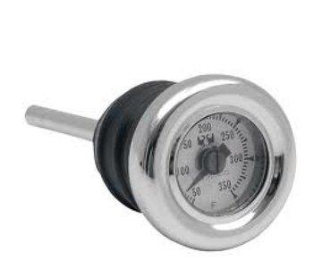 MCS Olietemperatuurmeter 1984-2012 Softail; 1982-2003 XL en aangepaste tanks