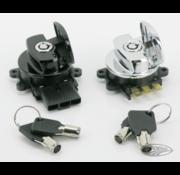 TC-Choppers contactslot zijscharnier 96-up zwart of chroom