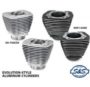 S&S Motorvoorraadcilinders voor evolutie