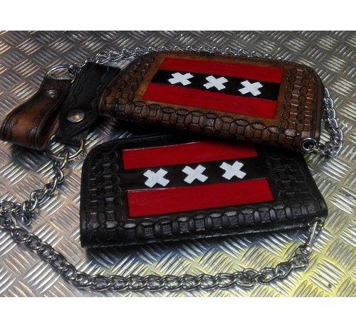 Harley Davidson Accessories heavy leather - black - Copy