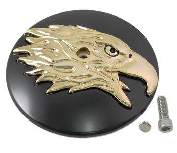 Wyatt Gatling Ronda Limpiador Eagle Air cubierta Negro-Oro