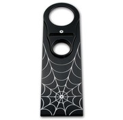 Pro-One Gastank Dash Panel Spider Web Schwarz Road King Black