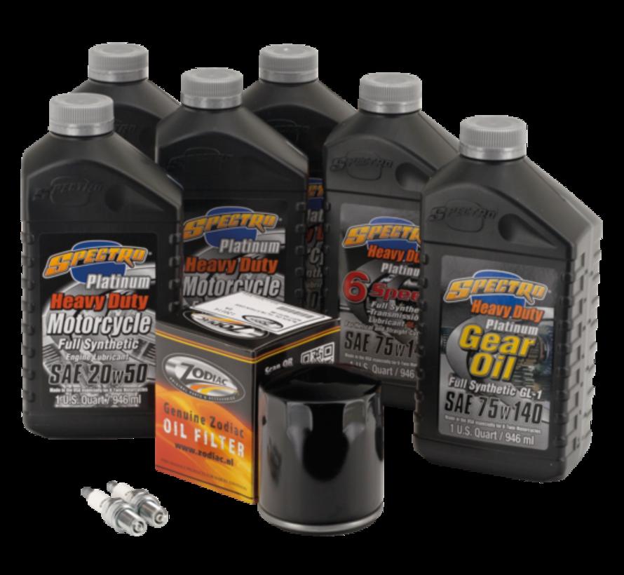 Platinum Plus Total Service Kit voor de meest veeleisende rijders