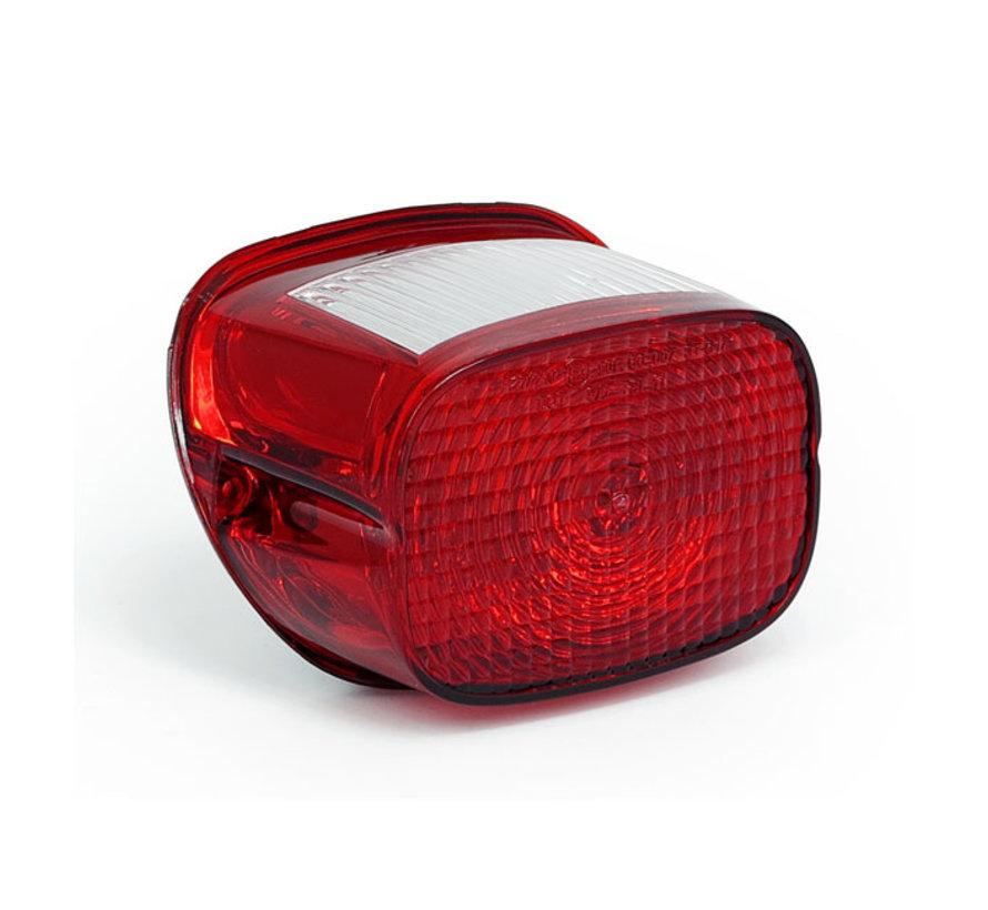 Remplacement direct de la lentille du feu arrière HD à partir de 2003; Remplacement direct de la lentille de feu arrière D approuvé par la CEE; Approuvé ECE