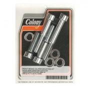 Colony étrier de frein et kit de montage de plaquettes avant et arrière
