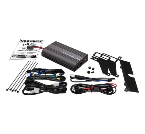 Hogtunes Hogtunes audio Rev Series Amplifier Kit , For 99-13 FLHT