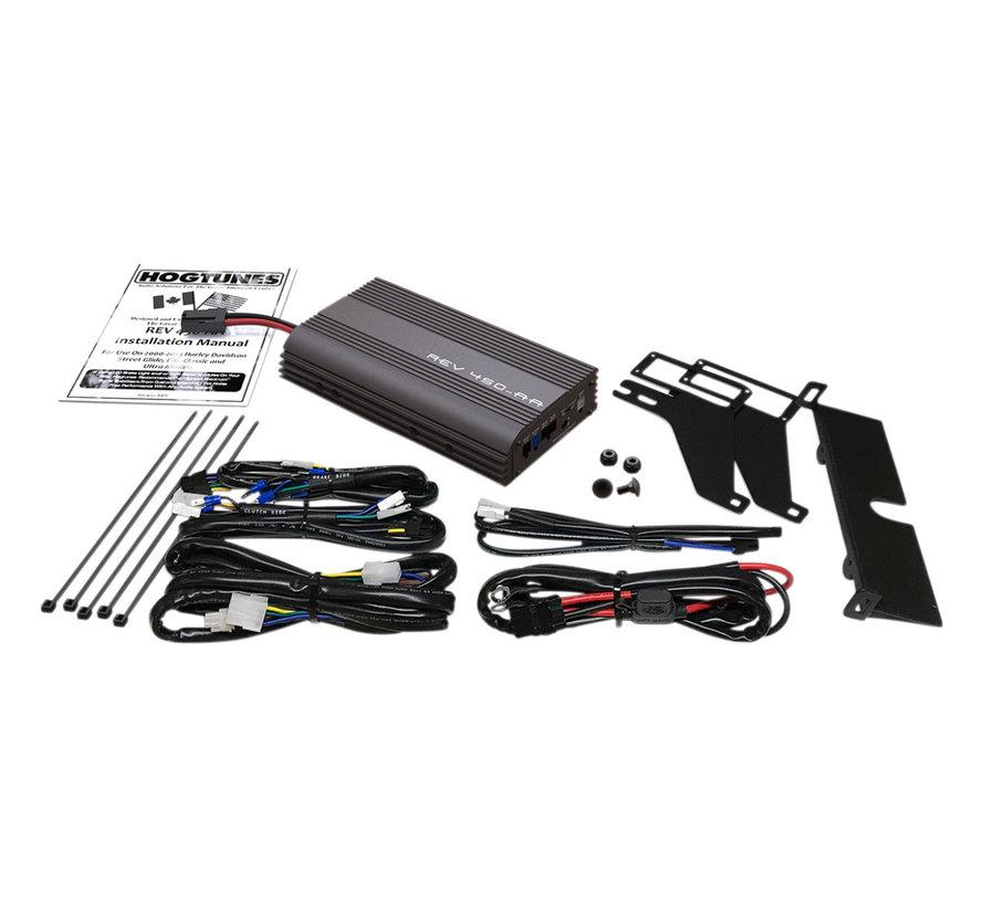 Hogtunes audio Rev Series Amplifier Kit, para 99-13 FLHT