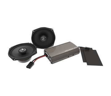 Hogtunes Hogtunes Harley Audio Rev Series Amplified Speaker Kit For 99‐13 FLHT / FLHX
