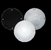 Derby-Abdeckung verchromt, poliert oder schwarz faltig 94-03 XL