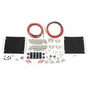 Zadeltas hardware kit FLH / T 99-13