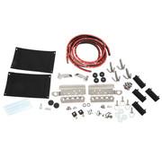 Zadeltas hardware kit FLH / T 14-20