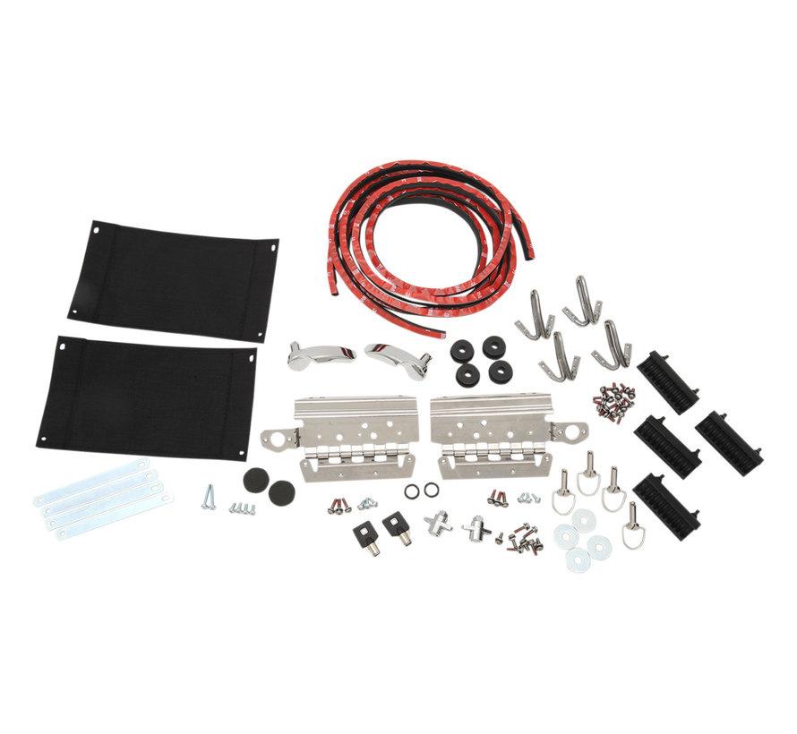 Harley Davidson Satteltaschen-Hardware-Kit FLH / T 14-20