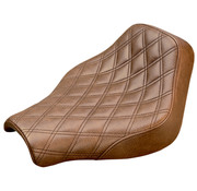 Saddlemen Renegade LS Solo Seat Softail 2018-up marrón con Gel