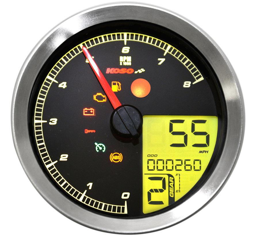 Tachometer / Drehzahlmesser für 11-19 Softail, 12-17 Dyna, 14-19 XL Sportster