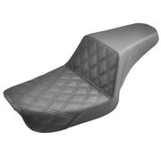 Saddlemen Siège Step-Up LS Compatible avec:> Dyna 04-05 FXD (SAUF FXDWG)