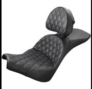 Saddlemen Explorer LS Touring Seat Past:> Softail 18-up