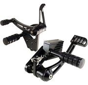 TC-Choppers Forward controls billet Black or Polished  Fits: > 2000-2006 – Softail FLST/FXST