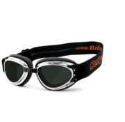 Helly Goggle Sunglasses Bikereyes hurricane 2 Chrome