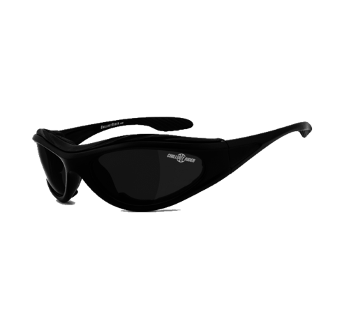 Helly Lunettes de soleil motard Chillout Rider CR003-A - Fumée