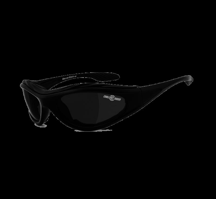 Lunettes de soleil motard Chillout Rider CR003-A - Fumée