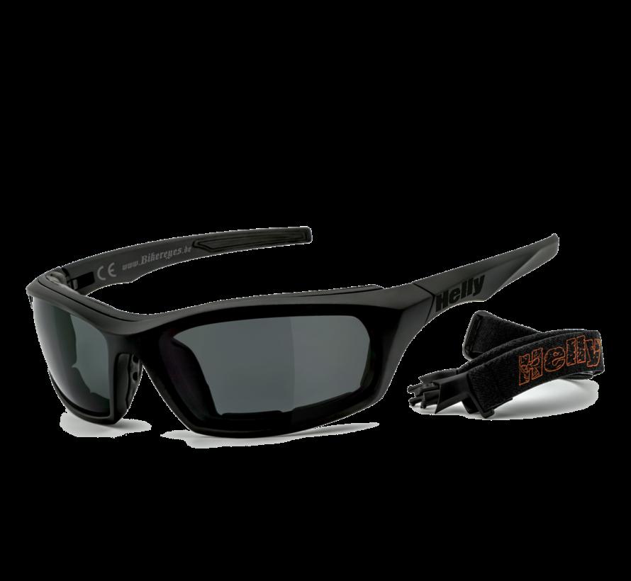 Biker zonnebril i-stealth - smoke