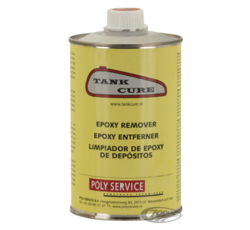 Harley Davidson Tank Cure Epoxy Remover