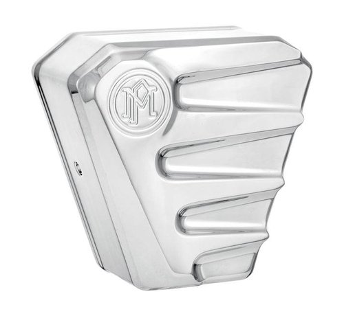 PM Harley Davidson Horn cover SCALLOP ASSY -  Chrome