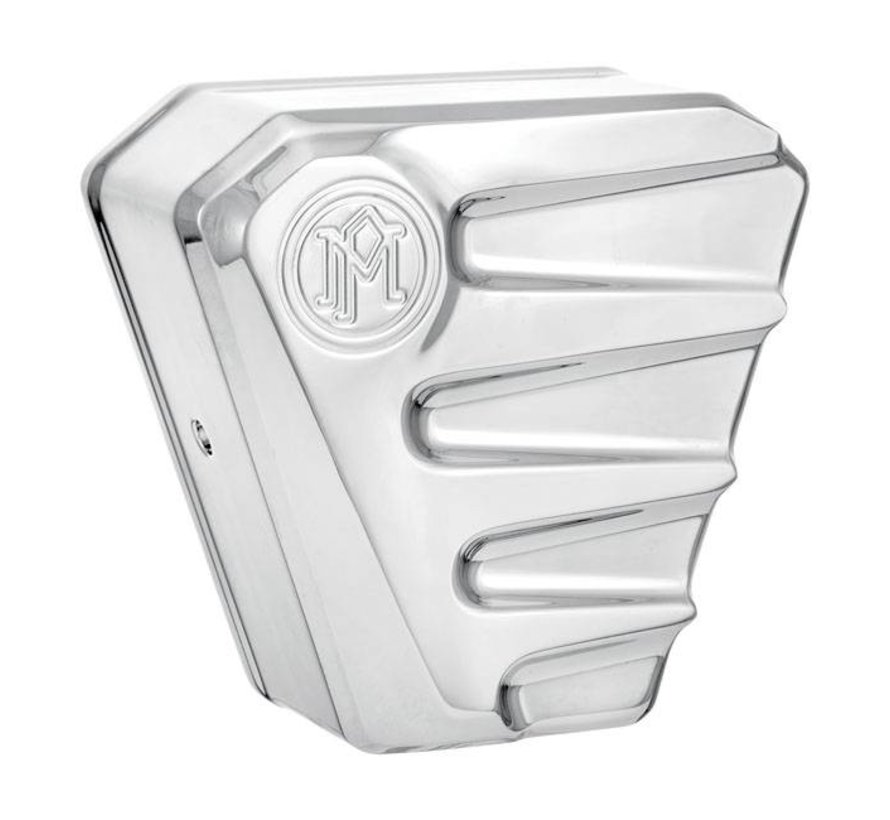 Harley Davidson Horn cover SCALLOP ASSY -  Chrome