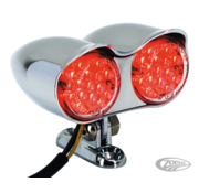 TC-Choppers achterlicht LED dubbel hi-glide kogelvormig achterlicht