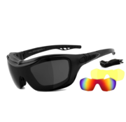 Helly Biker sunglasses bandit 2 -   smoke, laser red & xenolit®