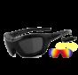 Biker Sonnenbrille Bandit 2 - Rauch, Laser Rot & Xenolit®