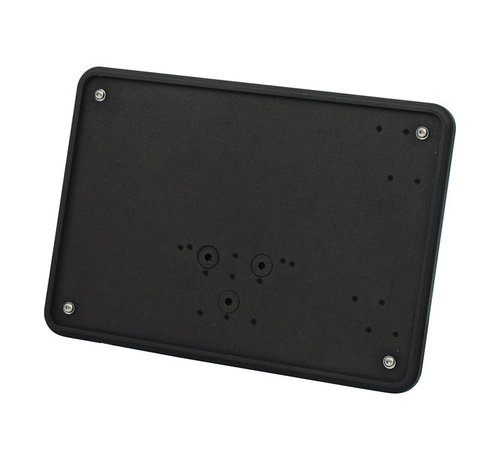 CPV License plate,  Polished or Black:   size 143x210mm License plate, fender mount