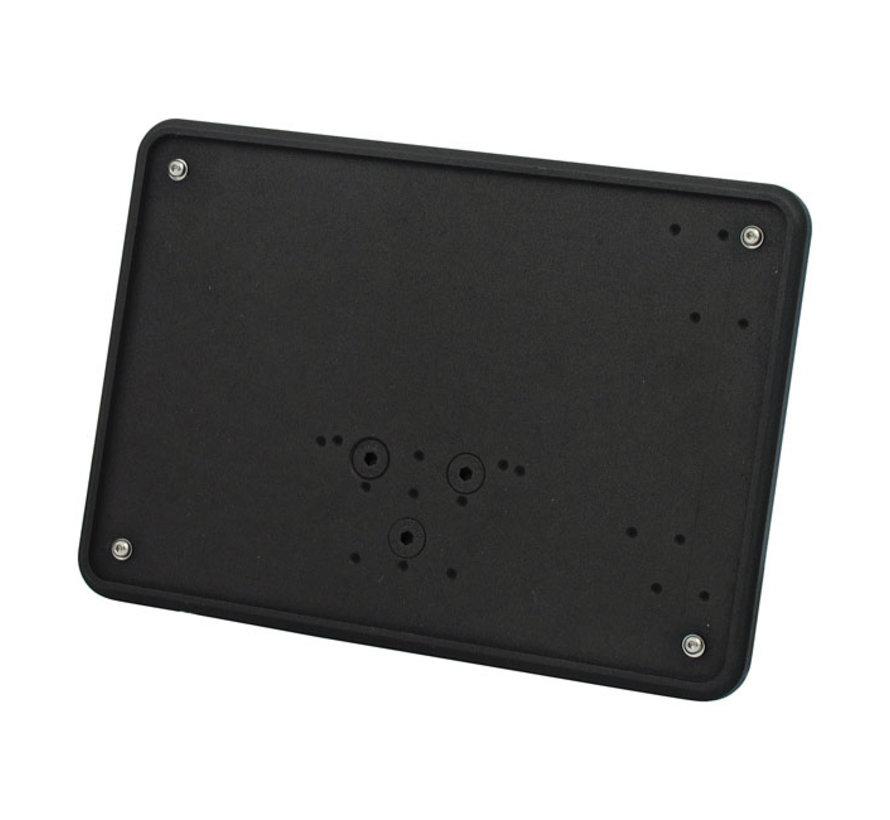 License plate,  Polished or Black:   size 143x210mm License plate, fender mount