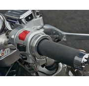 "Brakeaway cruise control Slides over and mounts to the outside of a 1 3/8"" to 1 1/2"" diameter grip"