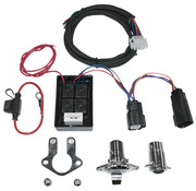 Khrome works Anhänger 5-Draht-Steckverbinder-Kit mit Isolator 97-13 FLH / FLT - Copy