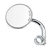 Biltwell Biltwell Utility Mirror Round - Chrome ECE genehmigt