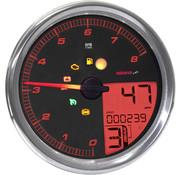 Koso Speedometer/Tachometer fits 14‐19 FLHR, 11‐17 Softail, 12‐17 Dyna models (except FXDL)