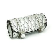 La Rosa white metal flake toolbag