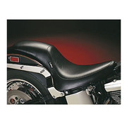 Le Pera seat Full Length Silhouette Smooth 00-17 Softail with 150mm rear tire Softail
