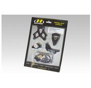 Hyperpro Kit de montage d'amortisseur de direction
