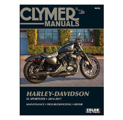 Clymer service manual  Fits: > 14-17 Sportster