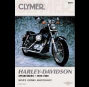Clymer Harley Davidson boekt Clymer service manual - Sportster Series 59-85 Repair