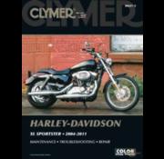 Clymer Harley Davidson boekt Clymer service manual - Sportster Series 04-11 reparatiehandleidingen