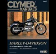 Clymer Harley Davidson boekt Clymer service manual - Sportster Series 86-03 reparatiehandleidingen