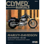 Clymer Harley Davidson books Clymer service manual - Sportster Series 86-03 Repair Manuals