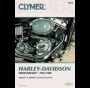 Clymer Harley Davidson books Clymer service manual - Shovel 66-84 Repair Manuals