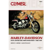Clymer books service manual - Repair Manuals Fits: > 84-99 Softail