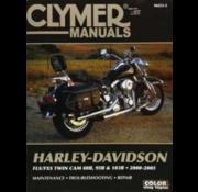 Clymer Harley Davidson boekt Clymer service manual - Softail Series 00-05 reparatiehandleidingen