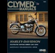 Clymer Harley Davidson boekt Clymer service manual - Softail Series 11-16 reparatiehandleidingen